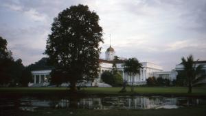 Presidential palace at Bogor