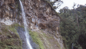 Waterfalls are a favorite destination for visitors to Cibodas.