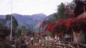 Venturers arrive in Kanikeh village.