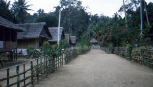 The main thoroughfare through Wasa.