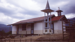Church in Manusela.