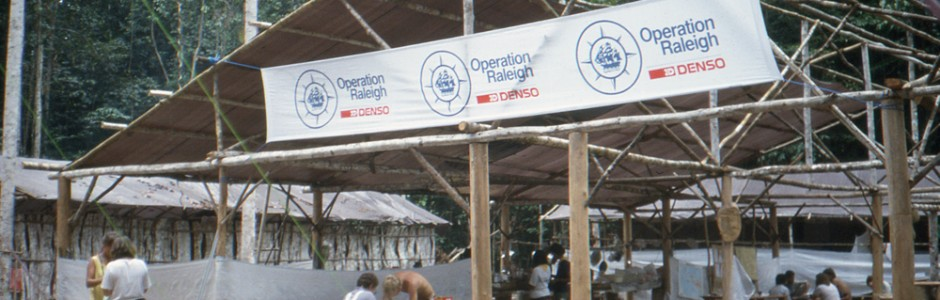 Operation Raleigh Seram base camp A.