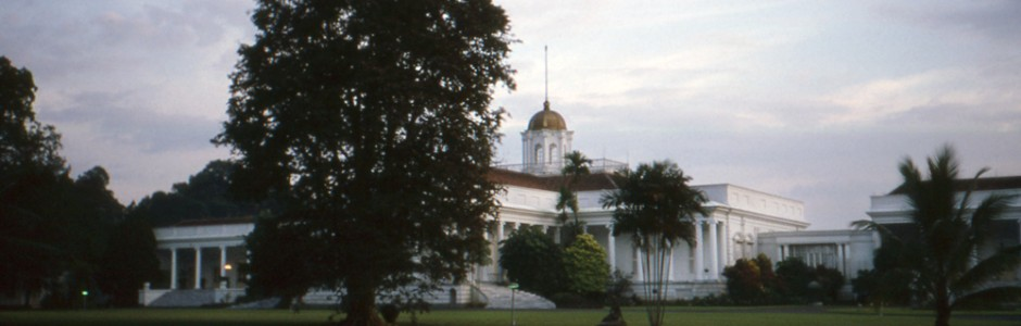 Presidential palace at Bogor